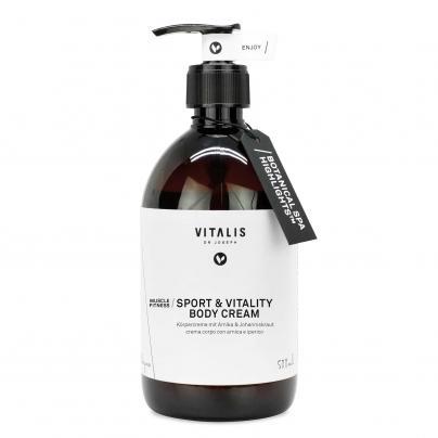 Sport & Vitality Body Cream 500ml